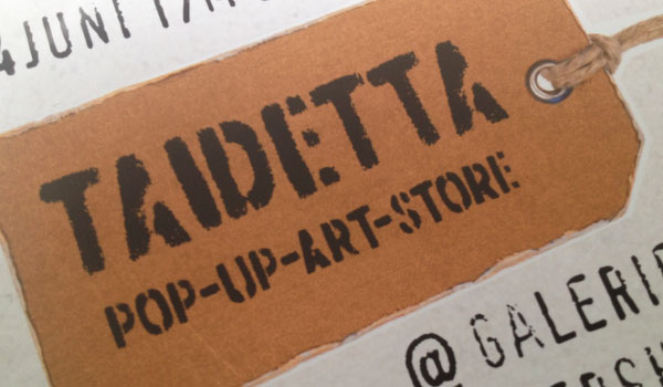 Taidetta       pop-up-store