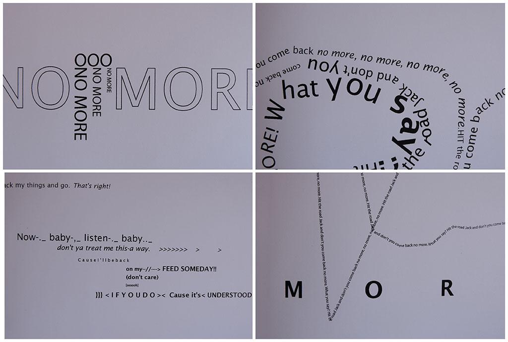SilkeSilke_HitTheRoadJack_Liedboek_Typografie_Typografische Vertaling1