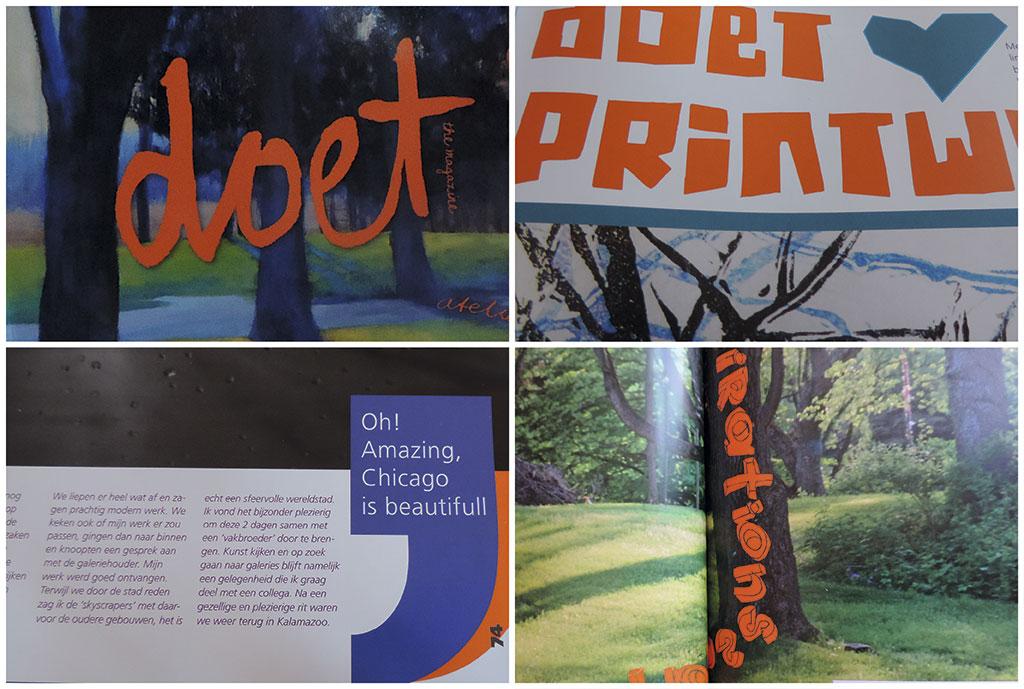vormgeving van magazines - Magazine Doet door SilkeSilke